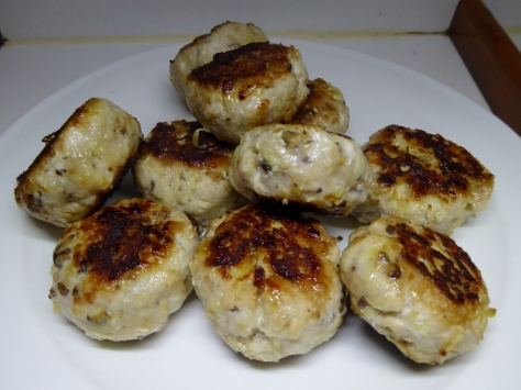 To end product. Marlin Rissoles delicious.