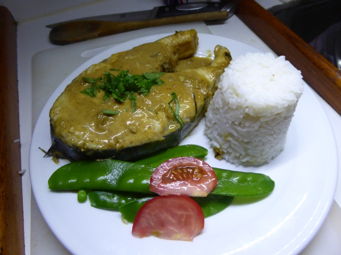Yellow Curried Mackerel Cutlet