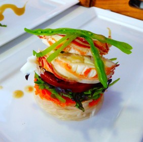 CRAYFISH SALAD WITH THAI-STYLE DRESSING