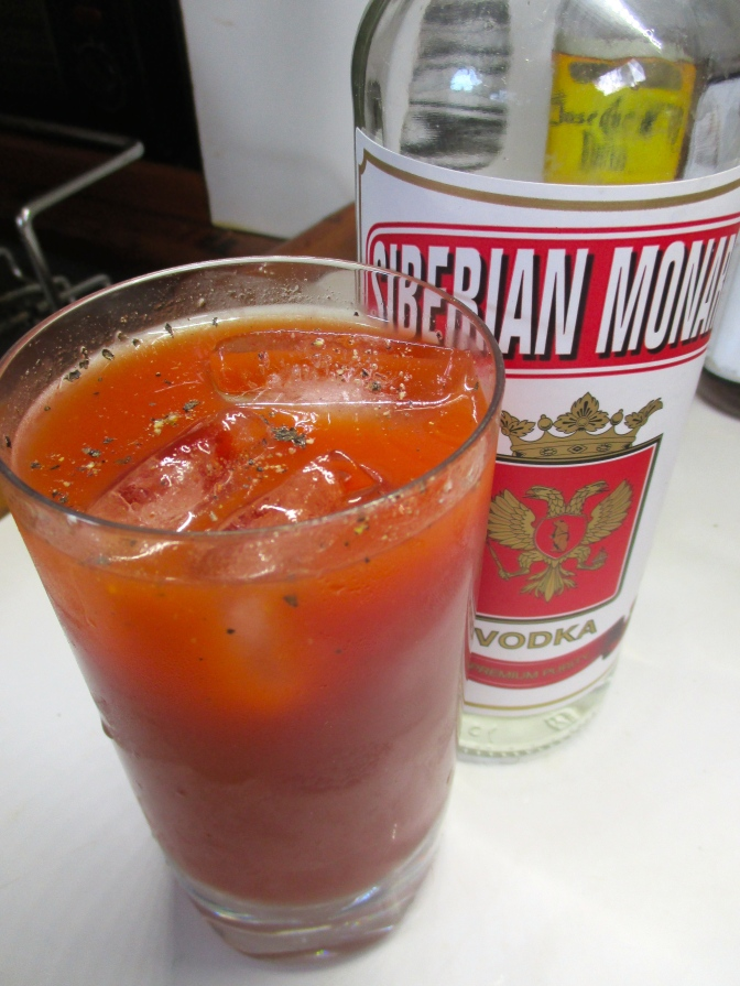 Dwayne's Bloody Mary