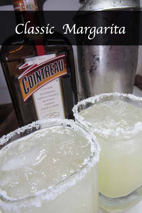 Classic Margarita #cointreau #tequila #lime #cocktail #drink #recipe #alcohol