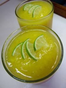 Icy Mango Margaritas