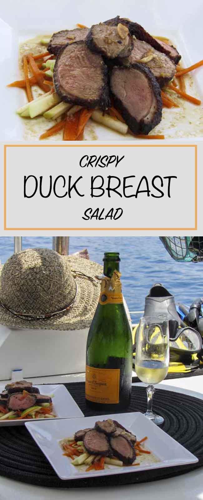 Crispy Duck Breast Salad
