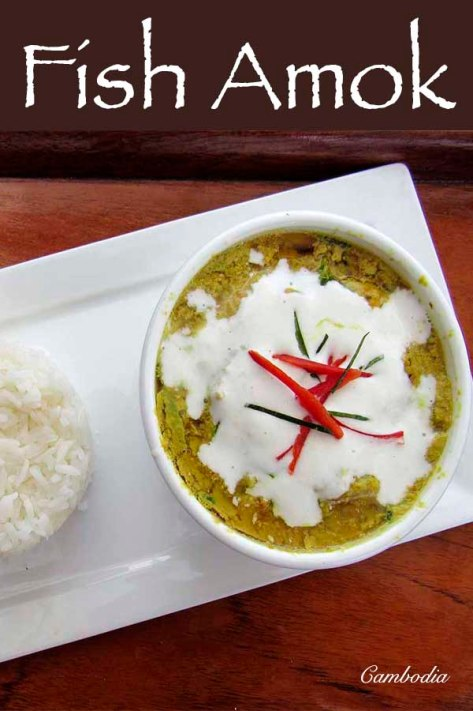 Fish Amok a Cambodian fish curry #fish #curry #asiandish #recipe #asian #cambodia