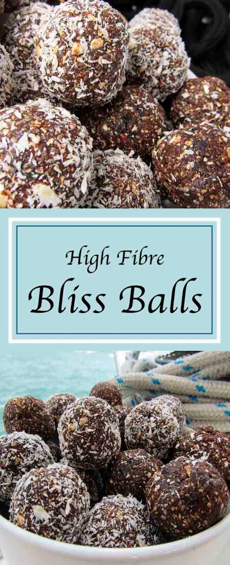 High Fibre Bliss Balls