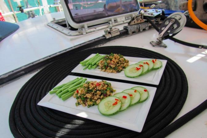 Laos Larb Kai (Chicken Salad)