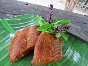 tea smoked fish