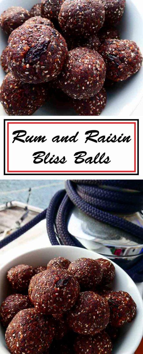 Rum and Raisin Bliss Balls