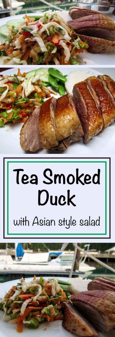 Tea Smoked Duck