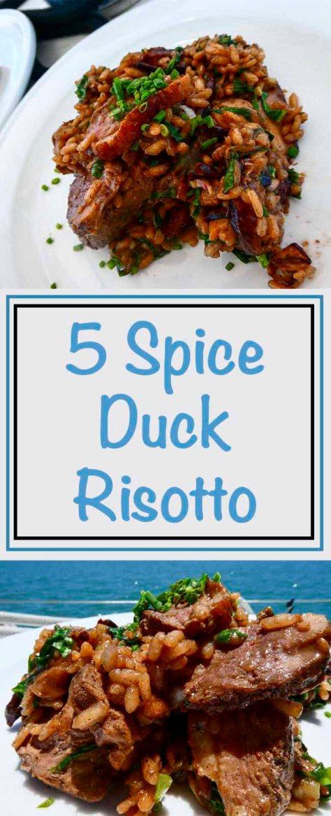 5 Spice Duck Risotto