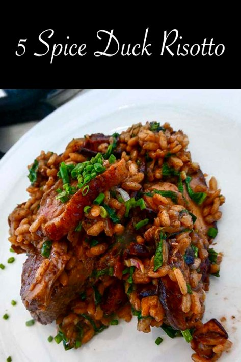 Duck Risotto with five spice #recipe #duck #delicious #risotto