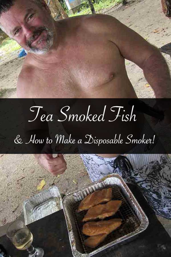 Tea Smoked Fish and How to Make a Disposable Smoker #recipe #teasmoked #fish #lunch #howto #smoker