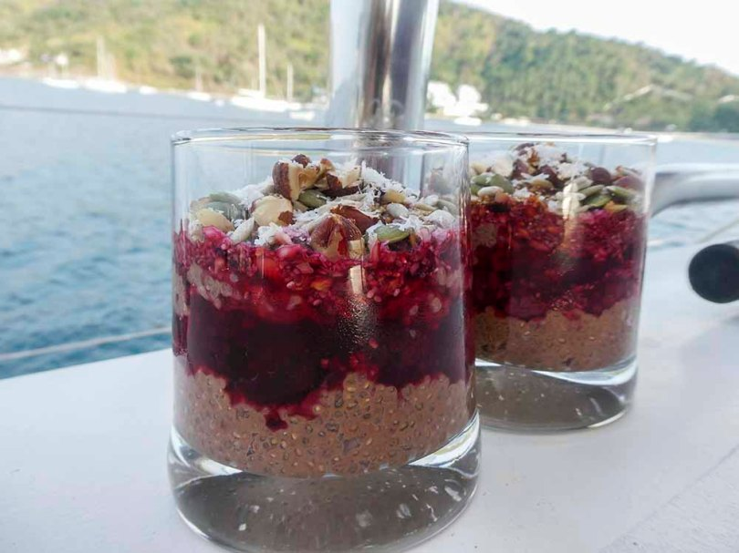 Chia Seed Pudding Superfood Nutritional High Fibre