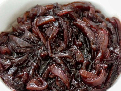 marmalade red onions red wine condiment