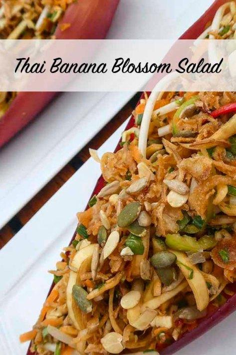 Thai Banana Blossom Salad