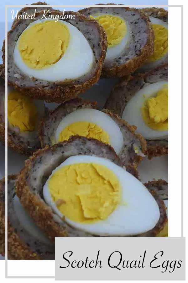 united kingdom food english eggs quail sausage pork