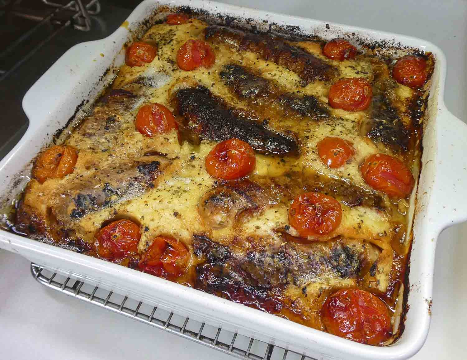 food recipe sausage tomato
