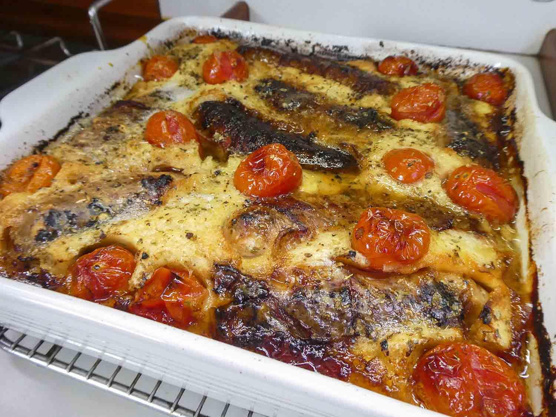 food recipe sausage tomato