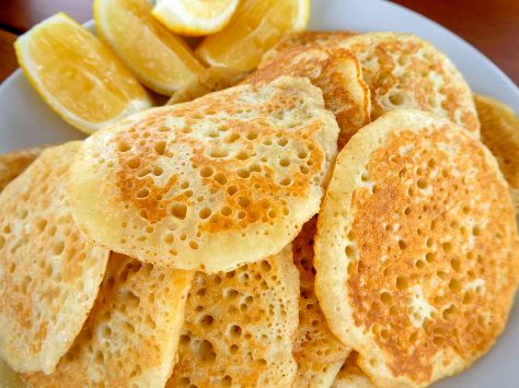 #eggless #pancakes #blini