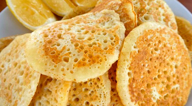 Eggless pikelets