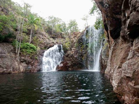 Waterfall Northern Territory. Australia