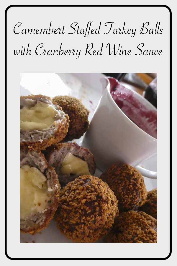 Cooked on a boat! #turkey #mince #camembert # sage #redwine #cranberry #cranberrysauce #crumbed #meatball #sailing #boatfood #cookingatsea #cookingonaboat #deepfry #travelblogger #cookingblog #recipe #cook #fingerfood #entree #mainmeal #dinner Gourmet from the galley!